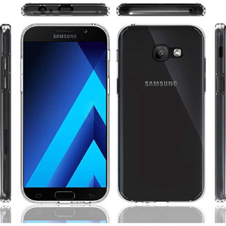 MSS Samsung Galaxy A3 (2017) Transparent TPU Silicone Back cover