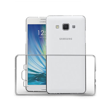 MSS Samsung Galaxy A3 (2015) Transparent TPU Silicone Back cover