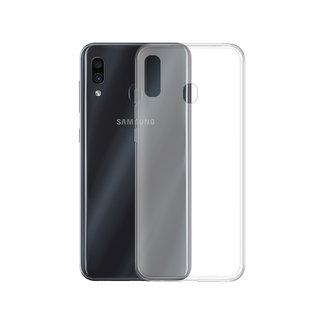 MSS Samsung Galaxy A30 / Galaxy A20 Transparent TPU Silicone Back cover