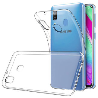 MSS Samsung Galaxy A40 Transparent TPU Silicone Back cover