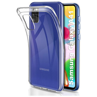 MSS Samsung Galaxy A41 Transparent TPU Silicone Back cover