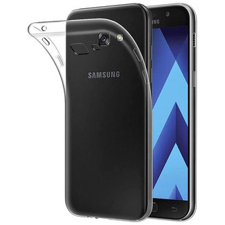 MSS Samsung Galaxy A5 (2017) Transparent TPU Silicone Back cover