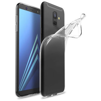 MSS Samsung Galaxy A6 (2018) Transparent TPU Silicone Back cover