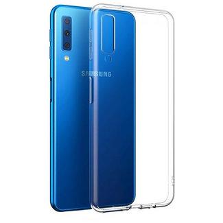 MSS Samsung Galaxy A7 (2018) Transparant TPU Siliconen Back cover