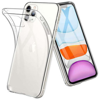 MSS Apple iPhone 11 Transparent TPU Silicone Back cover
