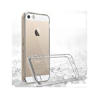 MSS Apple iPhone 5 / 5s / SE Transparent TPU Silicone Back cover
