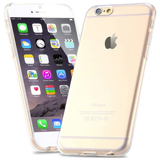MSS Apple iPhone 6 / 6s Plus Transparent TPU Silicone Back cover