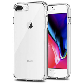 MSS Apple iPhone 7 Plus / iPhone 8 Plus Transparent TPU Silicone Back cover