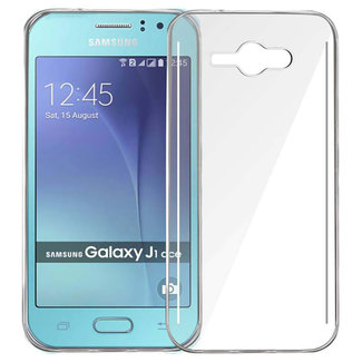 MSS Samsung Galaxy J1 Ace Transparent TPU Silicone Back cover