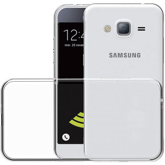MSS Samsung Galaxy J3 (2016) Transparent TPU Silicone Back cover