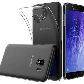 MSS Samsung Galaxy J4 (2018) Transparent TPU Silicone Back cover