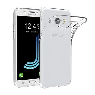 MSS Samsung Galaxy J5 (2017) Transparant TPU Siliconen Back cover