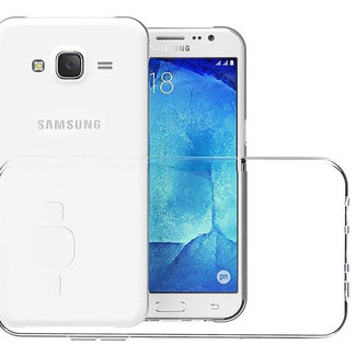 MSS Samsung Galaxy J7 (2015) Transparant TPU Siliconen Back cover