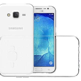 MSS Samsung Galaxy J7 (2015) Transparent TPU Silicone Back cover
