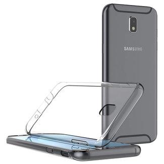 MSS Samsung Galaxy J7 (2017) Transparent TPU Silicone Back cover