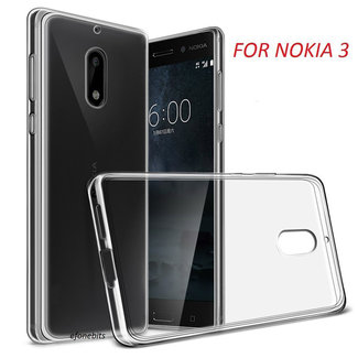 MSS Nokia Nokia 3 Transparent TPU Silicone Back cover