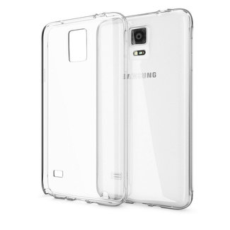 MSS Samsung Galaxy Note4 Transparent TPU Silicone Back cover