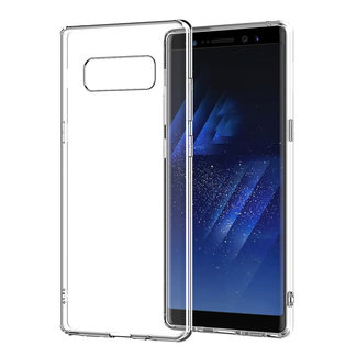 MSS Samsung Galaxy Note8 Transparent TPU Silicone Back cover