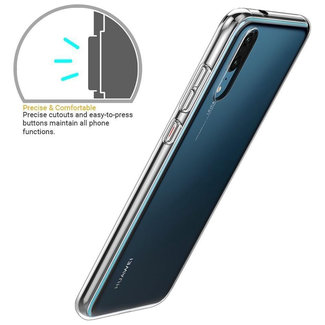 MSS Huawei P20 Transparent TPU Silicone Back cover