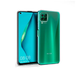 MSS Huawei P40 Lite Transparent TPU Silicone Back cover
