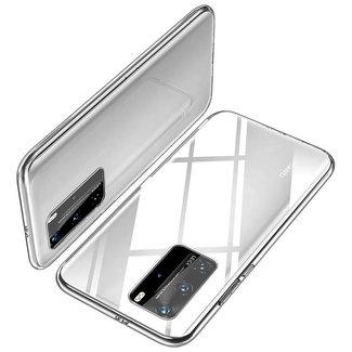 MSS Huawei P40 Transparent TPU Silikon Rückseite
