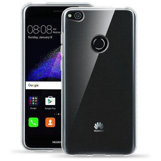 MSS Huawei P8 Lite (2017) Transparente TPU Silikon Rückseite