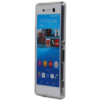 MSS Sony Xperia M5 Transparent TPU Silicone Back cover