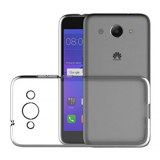 MSS Huawei Y3 (2017) Transparent TPU Silicone Back cover