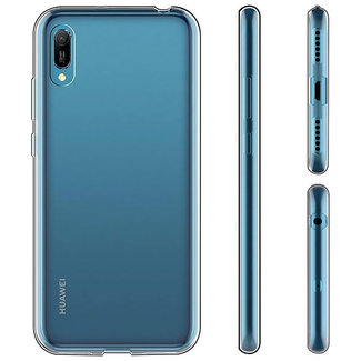 MSS Huawei Y6 (2019) Transparent TPU Silicone Back cover