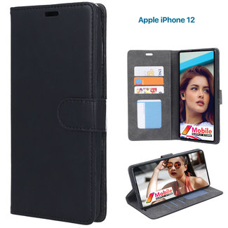 MSS Apple iPhone 12 TPU / Artificial leather Book cover