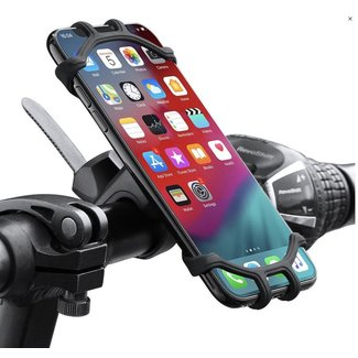 Silicone Holder for Bicycle a Moto