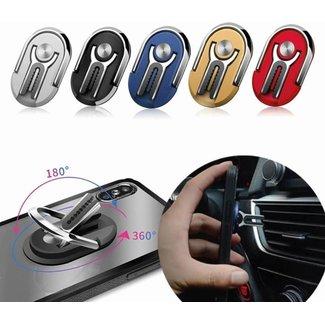 MSS 360 Grad Halter - Drehständer | Magnet | Autohalter | Fingerring