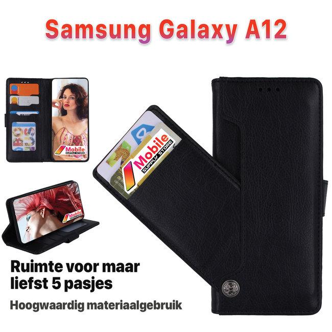 MSS MSS Samsung Galaxy A12 High Class Book cover