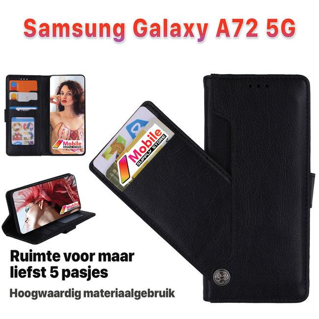 MSS MSS Samsung Galaxy A72 5G High Class Book cover