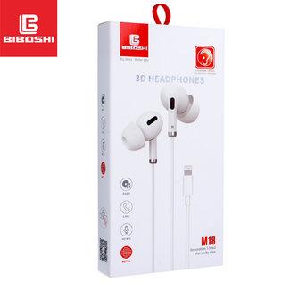 Biboshi M18 in-ear oordopjes voor iPhone