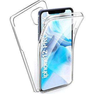 MSS Apple iPhone 12 Pro Max TPU 360° graden TPU siliconen 2 in 1 hoesje