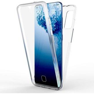 MSS Samsung Galaxy S20FE TPU 360° graden TPU siliconen 2 in 1 hoesje
