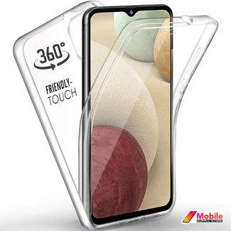 MSS Samsung Galaxy A12 5G TPU 360 ° degree TPU silicone 2 in 1 case