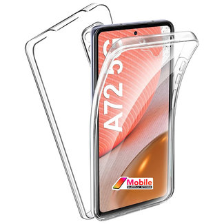MSS Samsung Galaxy A72 5G TPU 360° graden TPU siliconen 2 in 1 hoesje