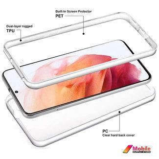 MSS Samsung Galaxy S21 TPU 360 ° degree TPU silicone 2 in 1 case