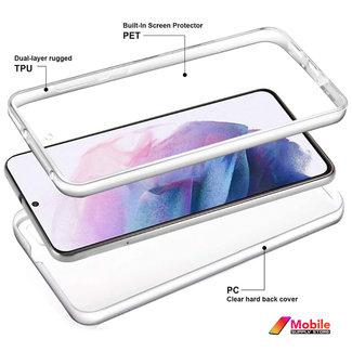 MSS Samsung Galaxy S21 Plus TPU 360 ° TPU Silikon 2 in 1 Hülle