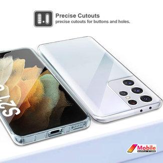 MSS Samsung Galaxy S21 Ultra TPU 360 ° degree TPU silicone 2 in 1 case