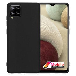 MSS Samsung Galaxy A12 TPU Matte Black back cover