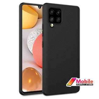 MSS Samsung Galaxy A42 TPU Matte Black back cover