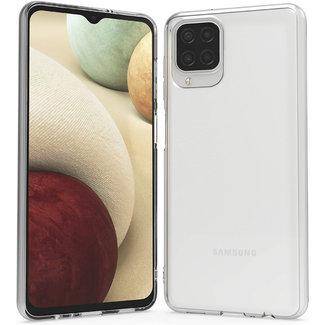 MSS Samsung Galaxy A12 5G TPU Transparant siliconen hoesje