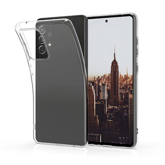 MSS Samsung Galaxy A72 5G TPU Transparent silicone case