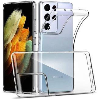 MSS Samsung Galaxy S21 Ultra TPU Transparent silicone case