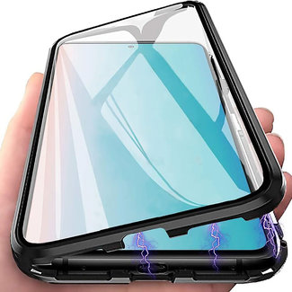 MSS Samsung Galaxy A20s Magnetic  360° hoesje voor + achter tempered glass