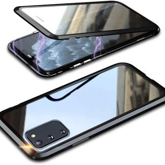 MSS Samsung Galaxy S10 Lite (2020) Magnetic  360° hoesje voor + achter tempered glass