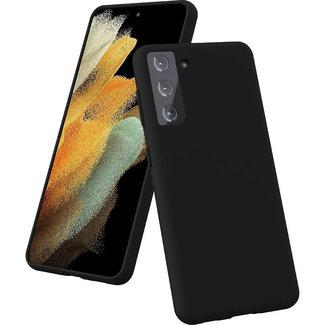 MSS Samsung Galaxy S21 Plus TPU Matte Black back cover